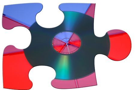 CD Puzzle Piece