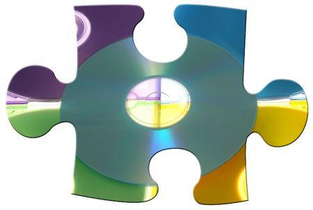 CD Puzzle Piece #2