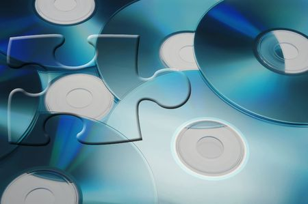 cds: CDs with Puzzle Piece