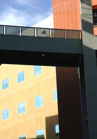 Modern Building Walkway
