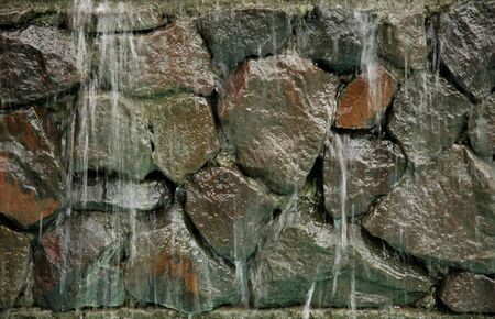 cascading: Water Cascading Down Rocks