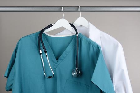 Primer plano de un médico
