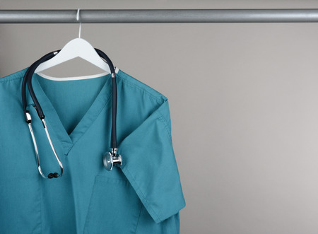 Closeup of a doctor