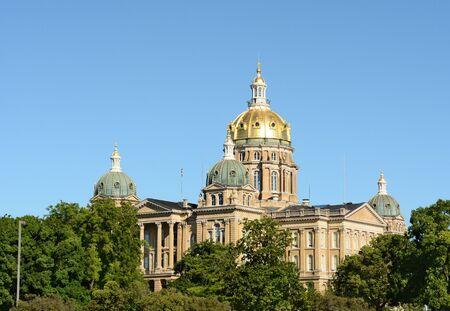 State Capitol Building, Des Moines, Iowa.