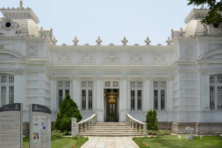 lima: BARRANCO, PERU - OCTOBER 18, 2015: Pedro de Osma Museum. Opening in 1988 the museum, in the suburbs of Lima, is dedicated to preserving Peruvian viceregal artworks.