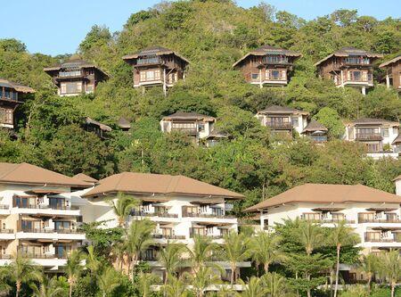 BORACAY, PHILIPPINES - APRIL 7, 2016: Shangri La Boracay Resort and Spa Villas. The luxury resort is adjacent to an eco-reserve. Redakční