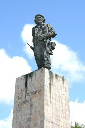 che guevara: SANTA CLARA, CUBA - JULY 26, 2016: The Che Guevara Statue at the Mausoleum built in his honor.