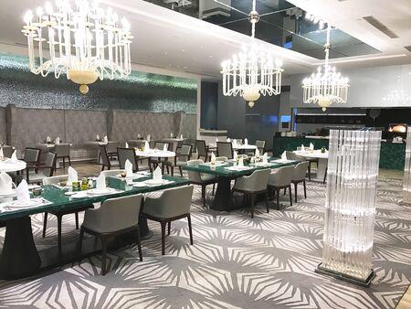 MUMBAI, INDIA - JANUARY 14, 2017: Taj Santacruz Hotel Rivea Restaurant. The luxury hotel is near the Chhatrapati Shivaji International Airport. Editorial