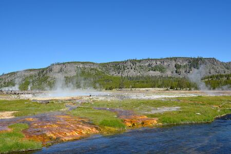 Biscuit Basin Yellowstone National Park