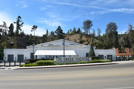 LOS ANGELES - NOVEMBER 24, 2017: The Greek Theatre. A 5,870 seat music venue located in Griffith Park.