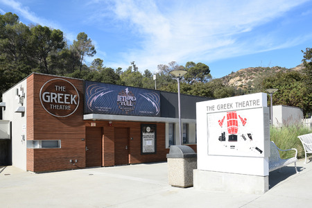 LOS ANGELES - NOVEMBER 24, 2017: The Greek Theatre Box Office. The music venue seats 5,870 patrons in an outdoor setting.