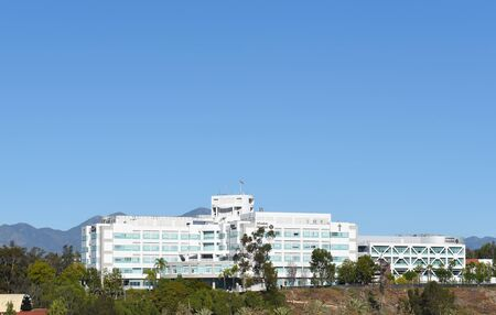 MISSION VIEJO, CA - JANUARY 23, 2018: Mission Hospital. A 552-bed acute care, full-service facility serving all of south Orange County.