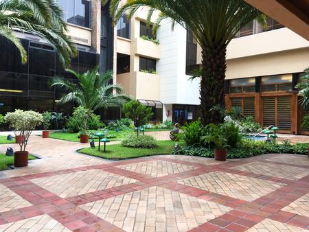 QUITO, ECUADOR - FEBRUARY 22, 2017: Swisshotel one of the citys top five-star luxury hotels. Redakční