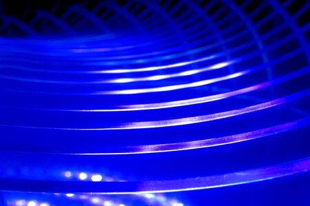Blue vibrant light Stock Photo - 9387673