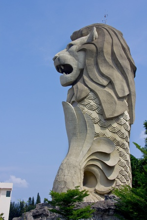 Singapore icon, The Merlion Editorial
