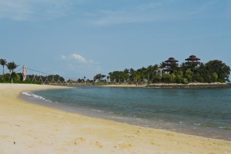 Palawan Beach, Sentosa Island, Singapore photo