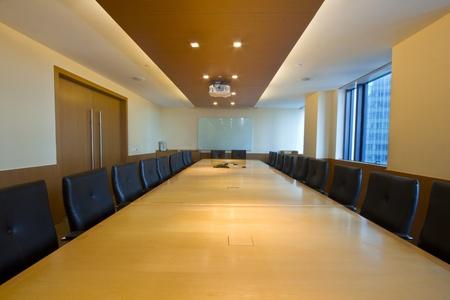 sala de reuniões: Interior elegante de Placa  Sala de Reunião Editorial