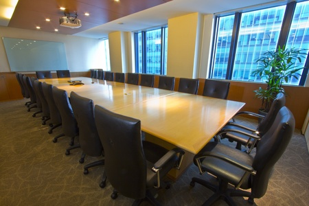 Elegant interior of Board  Meeting Room