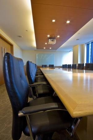sala de reuniones: Elegante interior de Junta  sala de reuniones