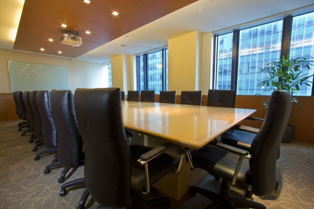 Elegant interior of Board / Meeting Room Stock Photo - 10912088