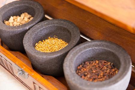 acupuntura china: Tradicional Hierbas de Asia