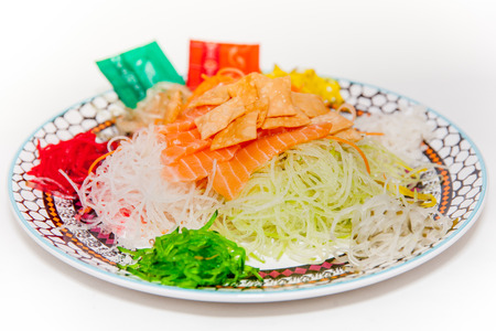 Yu-Sheng or Lo-Hei, Chinese Tradition during Lunar New Year