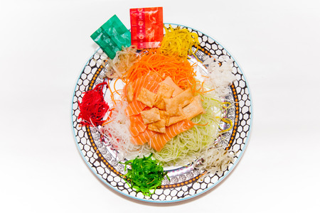 crunchy: Yu-Sheng or Lo-Hei, Chinese Tradition during Lunar New Year