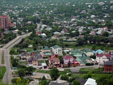 pyatigorsk: Pyatigorsk town panorama from Mashuk mountain