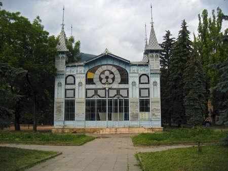 pyatigorsk: Lermontovs galleria. Pyatigorsk, Resort parte Archivio Fotografico