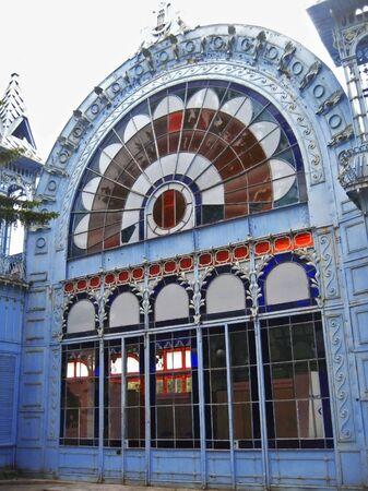 pyatigorsk: Lermontovs Gallery. Famous places of Pyatigorsk. Summertime Editorial