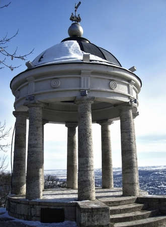 pyatigorsk: Arpa Aeolus in inverno. Punti di riferimento Pyatigorsk e monumenti