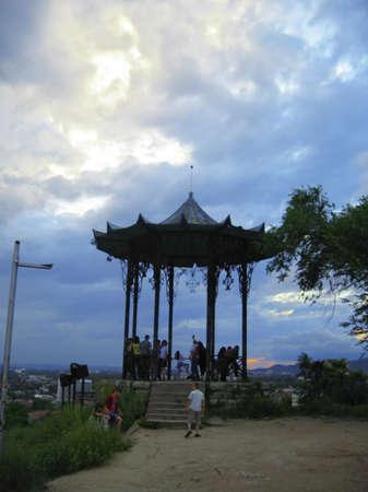 Chinese arbor  North Caucasus landmarks  Summer Pyatigorsk Stock Photo - 13507667