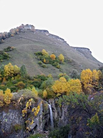 caucas: Honey waterfalls and autumn  The North Caucas