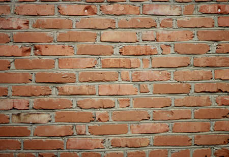 The Red brick wall background texture photo