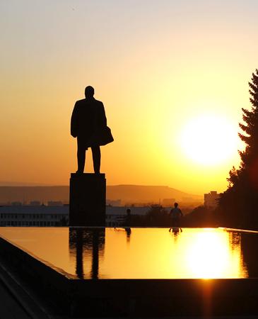 lenin: Lenin statues  Stock Photo