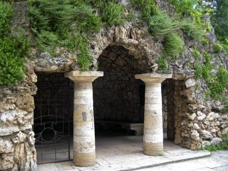 pyatigorsk: Dianas Grotto Pyatigorsk punti di riferimento, caucas Nord Archivio Fotografico