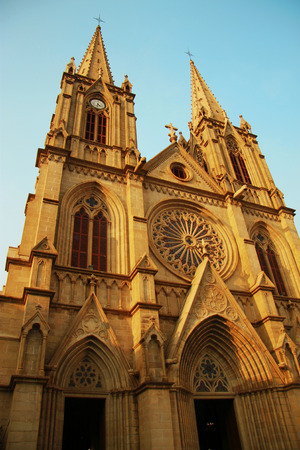 catholic church: Sacred Heart catholic cathedral in the Guanzhou China