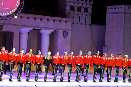 anatolia: Fires of Anatolia. Performance in the amphitheater of Anatolia. Editorial