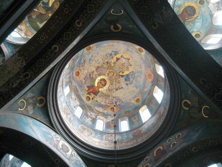 abkhazia: New Aphon monastery inside. Abkhazia Editorial