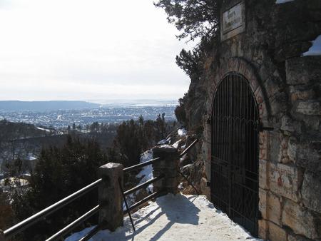 caucas: Lermontovs Grotto. Pyatigorsk Landmarks, The Northern Caucas Editorial