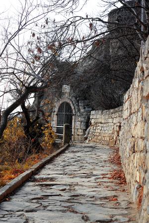 pyatigorsk: Lermontovs Grotto. Pyatigorsk Landmarks, The Northern Caucas Stock Photo