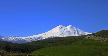 elbrus: Elbrus mountain