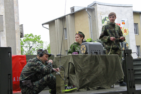 caucas: Celebration Of The 70Th Anniversary Of The Victory Day, Pyatigorsk Russia - May 09, 2015 Editorial