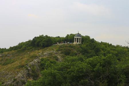 pyatigorsk: Aeolus Harp In Summertime. Pyatigorsk Landmarks And Monuments