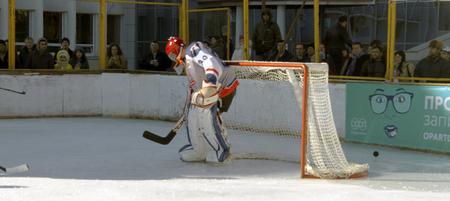 cup of russia: Hockey championship The Cup of Mayor Pyatigorsk. Russia, Pyatigorsk 31 January 2015