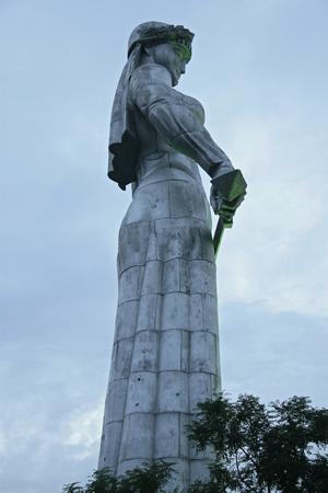 Mother of Georgia statue in Tbilisi Georgia Stock fotó - 82333543