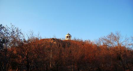 Aeolus Harp on Mashuk mountain. Pyatigorsk Landmarks And Monuments