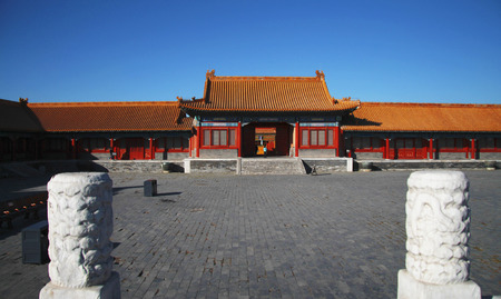 The Temples Of The Forbidden City In Beijing China republic