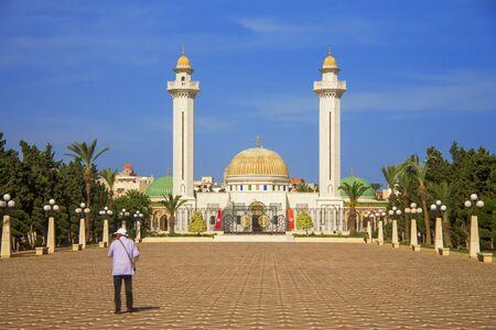 The Mausoleum of Habib Bourguiba in Monastir, Tunisia, North Africa 12 october 2018