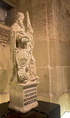 Sculpture inside the Klosterneuburg monastery of Roman Catholic church near Vienna Austria 04 november 2018